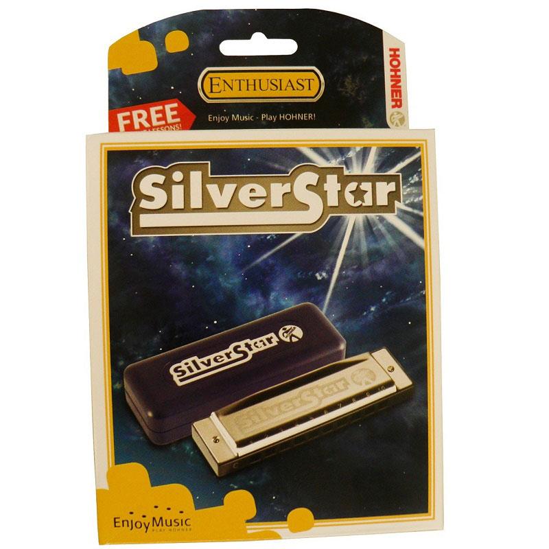Hohner Silver Star Bb Mundharmonika