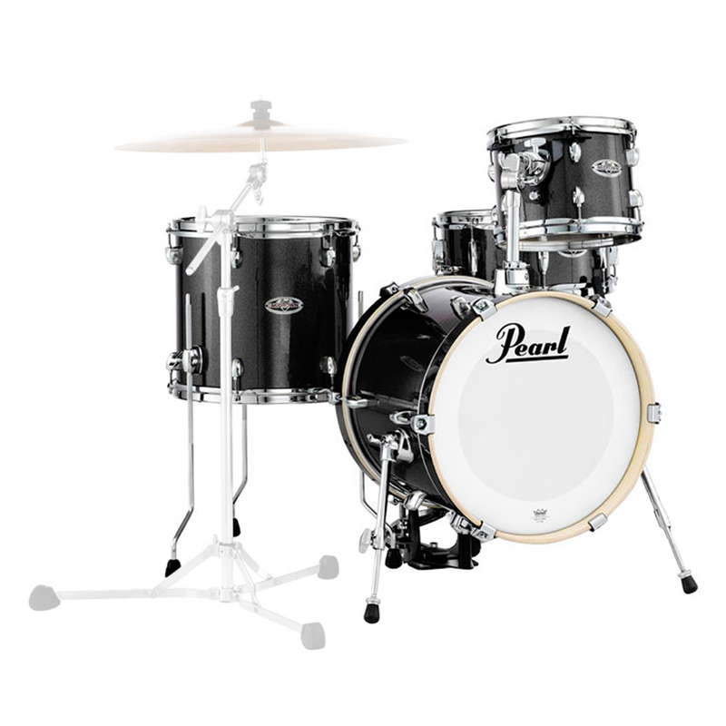 pearl midtown drumkit black gold sparkle shell pack world of music. Black Bedroom Furniture Sets. Home Design Ideas