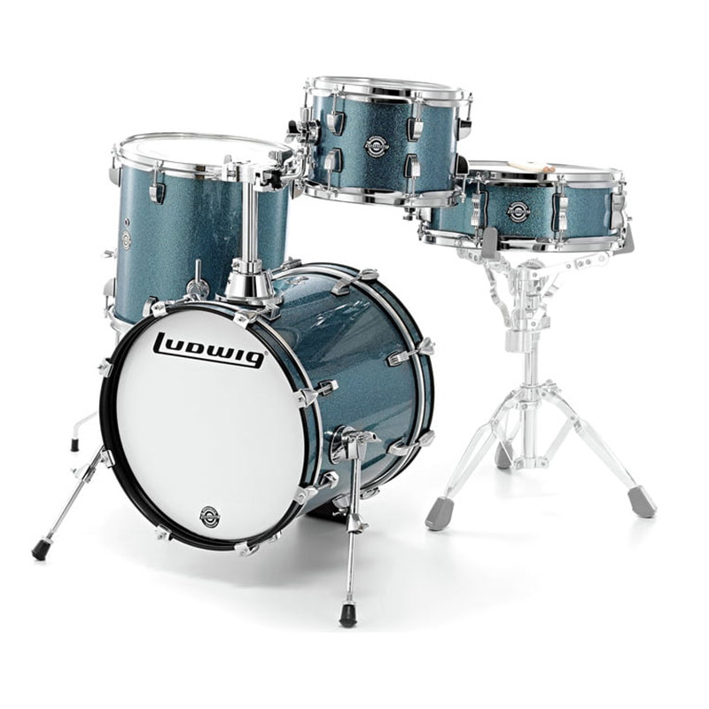 ludwig drums world of music. Black Bedroom Furniture Sets. Home Design Ideas