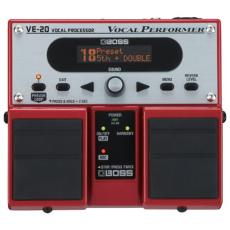 Boss VE 20 Vocal Performer Effects Processor