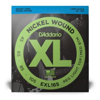 D'Addario EXL165 Bass Strings 45-105