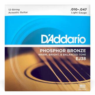 Daddario EJ38 12 String Strings