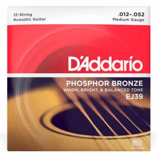 Daddario EJ39 12 Strings