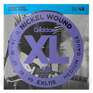 Daddario EXL115 Electric Strings