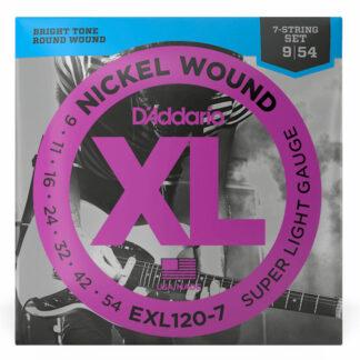 Daddario EXL120 7 String
