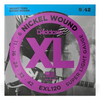 Daddario EXL120 Electric Strings