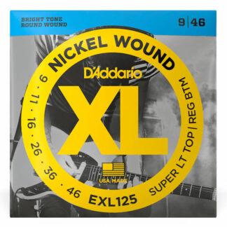 Daddario EXL125 Electric Strings