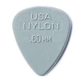 Dunlop Nylon 0.60mm Grey Picks