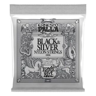 Ernie Ball Black and Silver Nylon Strings