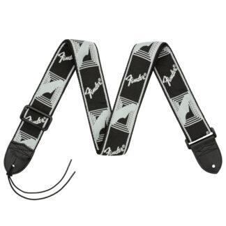 Fender Monogrammed Strap Black Grey