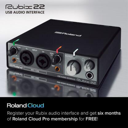 Roland Rubix22 Cloud Offer