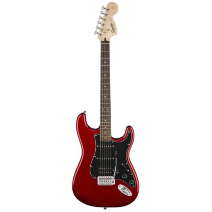 Squier Strat HSS Red