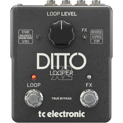 TC Electronic Ditto X2 Looper front