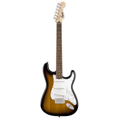 Squier Strat Guitar Pack Brown Sunburst