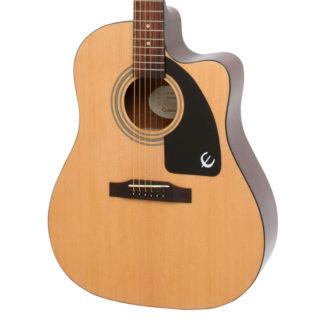 Epiphone J15EC Natural Acoustic body