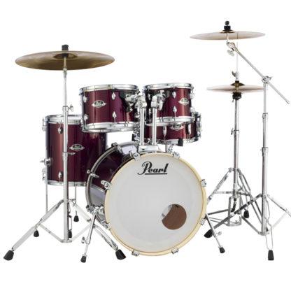 Pearl Export Plus Drumkit Burgundy