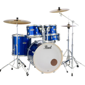 Pearl Export EXX Fusion Plus Drum Kit High Voltage Blue