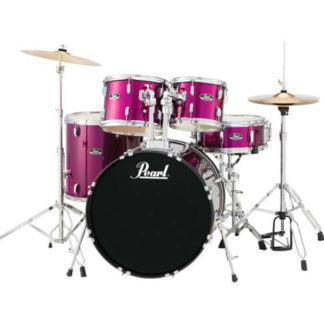 Pearl Roadshow Pink Drum Kit