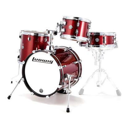 Ludwig Breakbeats Wine Red sparkle Shell pack