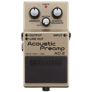 Boss AD-2 Acoustic Pre amp pedal