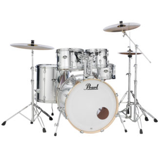 Pearl Export EXX Fusion chrome drum kit