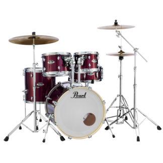Pearl Export EXX Fusion plus Burgundy drum kit