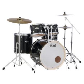 Pearl Export EXX Fusion plus Jet Black Drum Kit