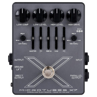 Darkglass Microtubes x7 dist, eq, comp bass pedal