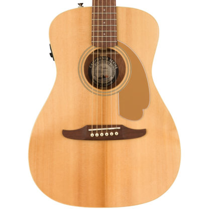 Fender Malibu Player Natural Acoustic Body