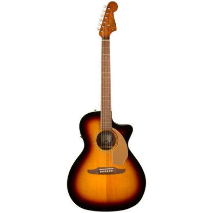 Fender Newporter Sunburst Acoustic Electric Guitar