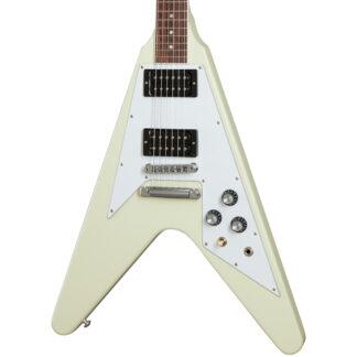 Gibson 70's Flying V Classic White Body