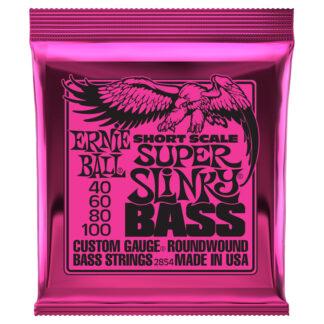 Ernie Ball Super Slinky 40-100 Short Scale Bass Strings