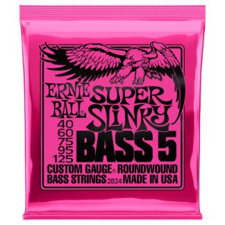 Ernie Ball Super Slinky 40-125 5 string bass set
