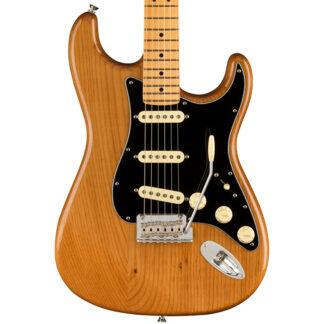 Fender AM Pro II Strat Roasted Pine Body