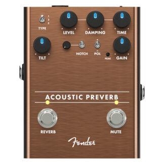 Fender Acoustic Preverb effect pedal