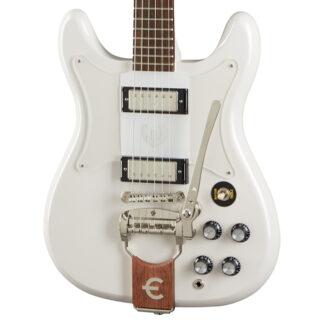 Epiphone Crestwood Custom Polaris White Body