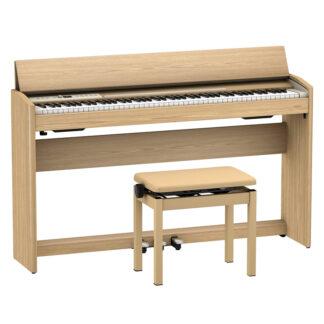 Roland F701LA Light Oak Digital Piano