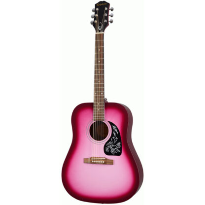 Epiphone Starling Hot Pink Pearl all