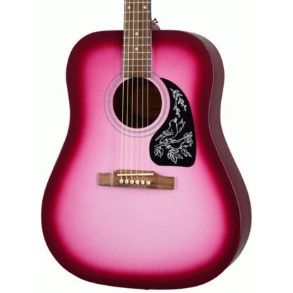 Epiphone Starling Hot Pink Pearl body