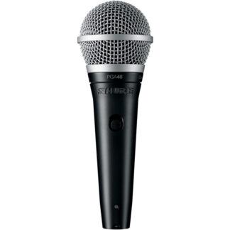 Shure PGA48 Dynamic Microphone all