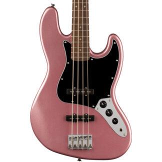 Squier Affinity Jazz Bass Burgundy Mist body
