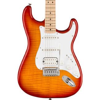 Squier Affinity Stratocaster FMT Sienna Sunburst body