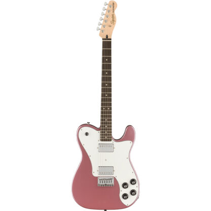 Squier Affinity Telecaster Deluxe Burgundy Mist all