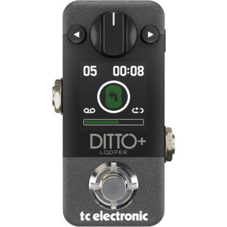 TC Electronic Ditto+ Looper Pedal front