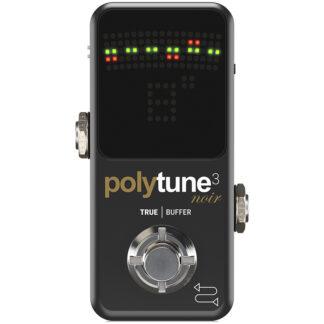 TC Electronic Polytune 3 Noir front