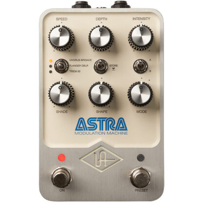 Universal Audio Astra Modulation Machine Pedal front