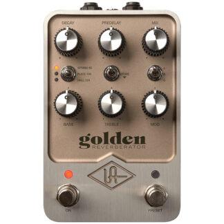 Universal Audio Golden Reverberator Pedal front