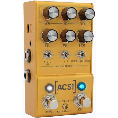 Walrus Mako ACS1 Amp and Cab Simulator angle