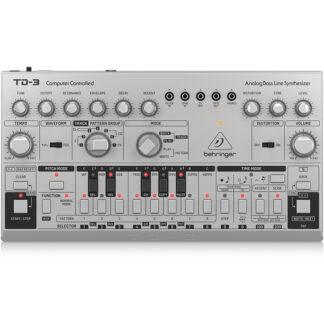 Behringer TD3-SR analog Bass Line Synth front