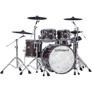 Roland VAD706 V-Drums Acoustic Design Gloss Ebony front